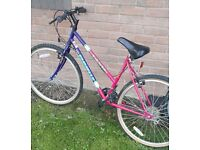 Ladies bike. .. very clean and reliable