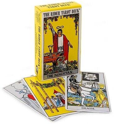 NEW! Rider Waite ORIGINAL Tarot Card Deck 78 Cards ~ POCKET size + Instructions