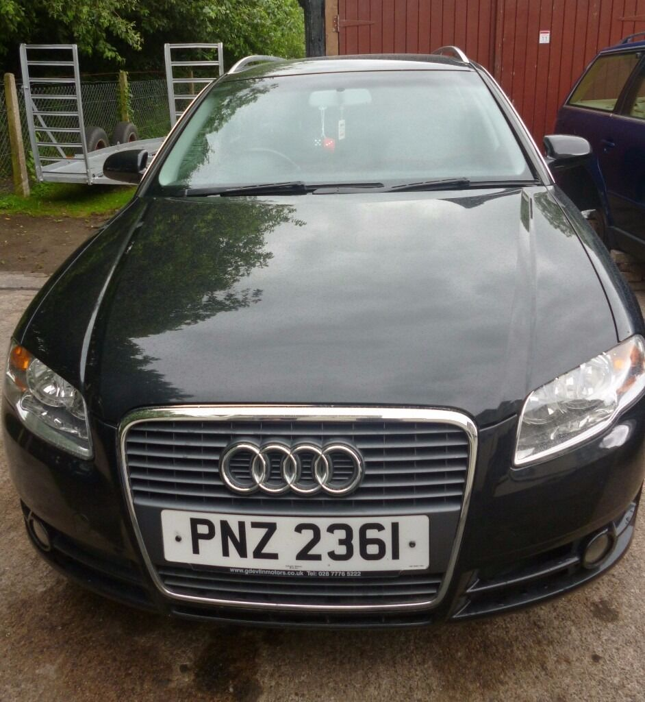 audi a4 2 0 tdi estate 2005 low mileage mot to 01 04 17. Black Bedroom Furniture Sets. Home Design Ideas