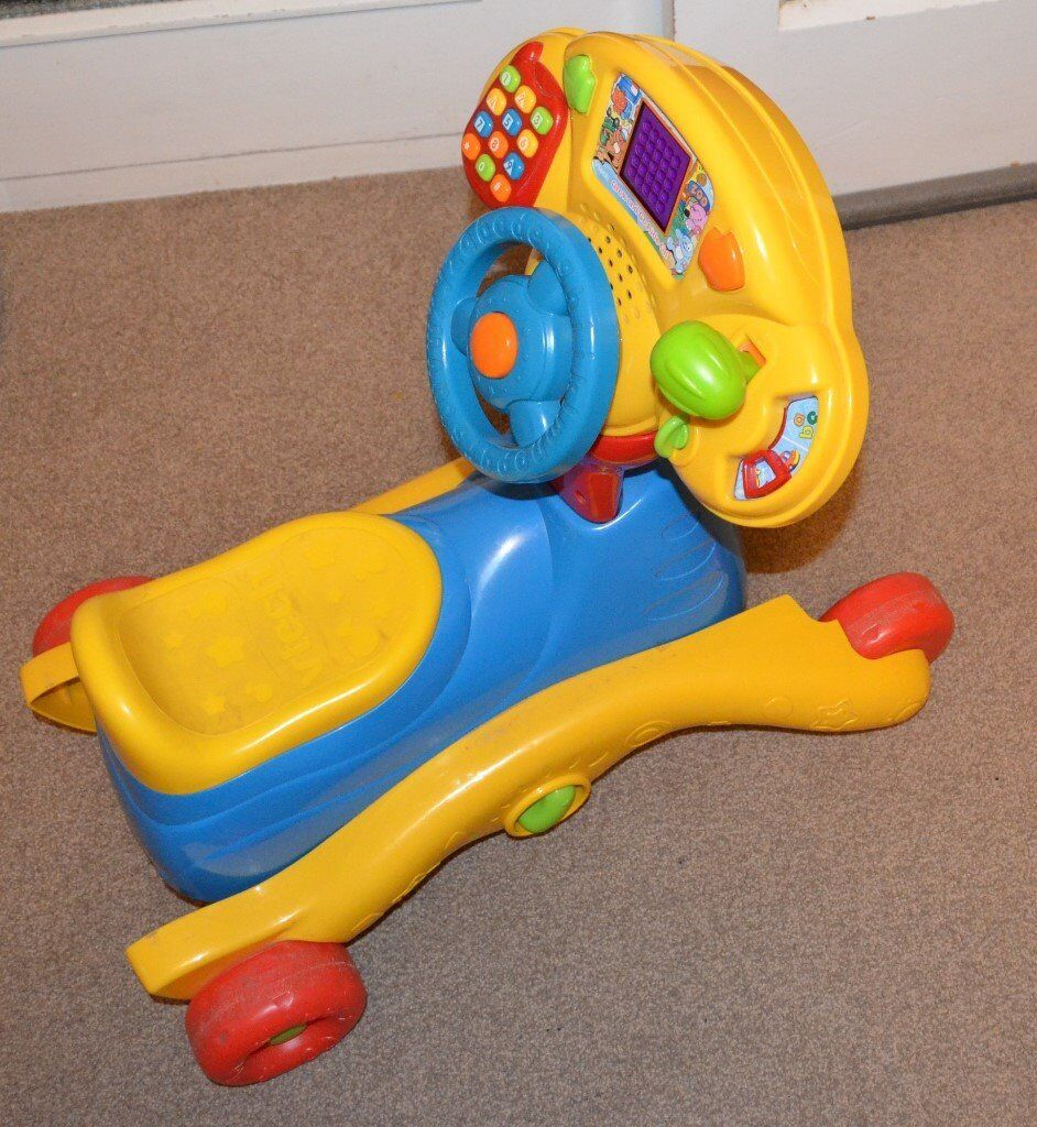 VTech Grow and Go Ride-on Baby rocking car toy rocker 3 in 1