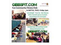 Fun Community Fitness Class in BATTLE