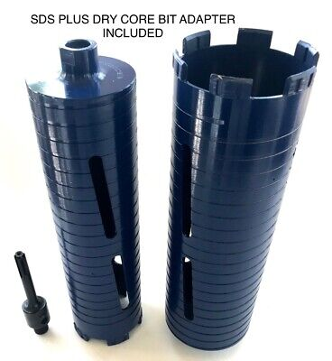 2 3 Dry Diamond Core Drill Bit With Sds Plus Adapter Fits Bosch Hilti
