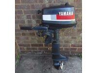 Yamaha 4HP Outboard Engine, Short Shaft ,for Dinghy Boat Tender
