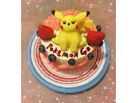 Pokemon GO Pikachu Cake Topper edible decoration Northampton