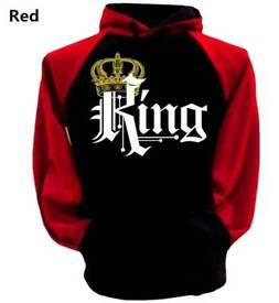 King mens hoodies sweatshirt brand new