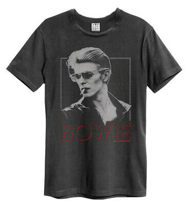 David Bowie '80s Era Smoking' T-Shirt - Amplified Clothing - NEW & OFFICIAL!