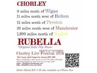 Rubella Live CHORLEY LIVE FESTIVAL 2016 indie pop band new sensation
