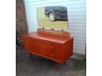 REDUCED Vintage 1950s Dressing Table Great Upcycling Project