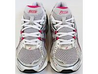 Women's Size 4 Asics Trainers - Pink, Grey and White