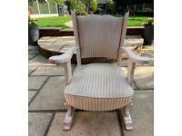 Vintage refurbished chair