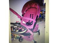Stokke Xplory V3 Limited Edition Pink With Lots Of Extras