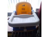 Toddler child Feeding chair seat with straps