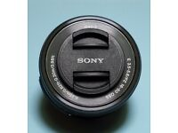 Sony 16-50 mm F/3.5-5.6 PZ OSS Lens - Black