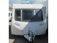 STERLING EUROPA 460 2011 *SOLAR PANEL* 2 BERTH CARAVAN