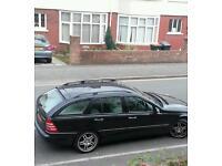 Mercedes Benz c200 compresor estate black colour 2004 swap