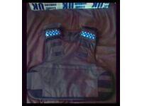 Kevlar L2 Overhead Police Stab Bullet proof Ballistic Body Armour Vest RRP £400