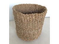 🌾Wicker Basket Indoor House Plant Pot Holder