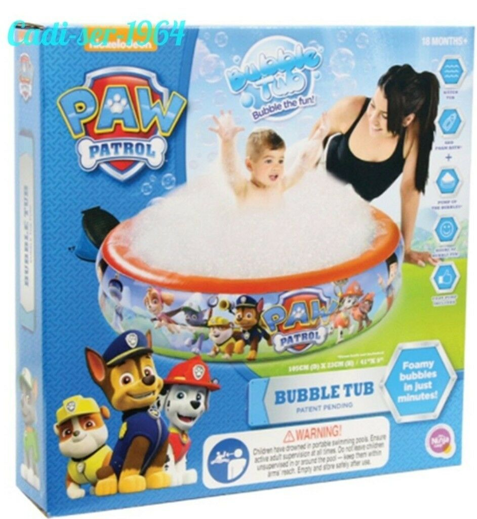 paw patrol bubble tub pool brand new | in Neath, Neath Port Talbot ...