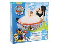 paw patrol bubble tub pool brand new