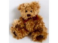 Russ Berrie Brown Gregory Teddy Bear Soft Toy