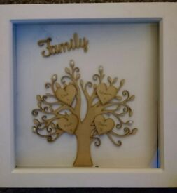 Homemade family tree pictures
