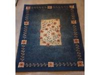 Blue Carpet Rug.