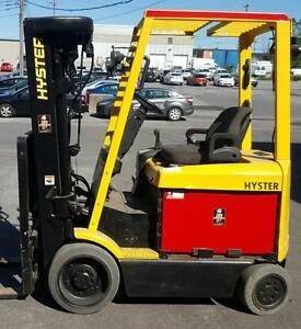 chariot elevateur electrique hyster 5000 Lbs forklift with side shift lift 3 section usage toyota nissan cat yale dispon