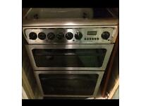 Hotpoint ceramic top cooker 60cm