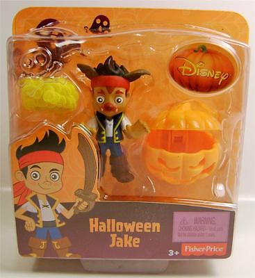 HALLOWEEN JAKE PIRATE DISNEY WITH PUMPKIN FIGURE FISHER PRICE 2014 - Jake Pirates Halloween