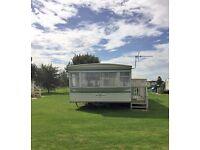 6 berth 2 bed caravan,ingoldmells,skegness,DOG FRIENDLY,1-8 April £200,quiet site,other dates