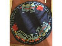 Lovely train rug