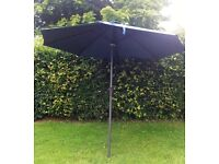 9ft Solar Powered Patio Umbrella
