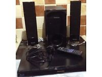 Panasonic blu-Ray disc home theater sound system