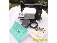 Fully Serviced / Working 201K Singer Sewing Machine