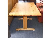 Pine kitchen/dining table