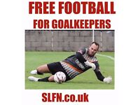 FREE FOOTBALL FOR GOALKEEPERS. GOALKEEPER WANTED FOR 11 ASIDE FOOTBALL TEAM. JOIN FOOTBALL LONDON