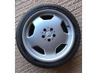 """Mercedes 5x112. 18"""" monoblock alloy wheels"""