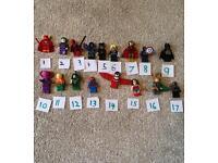 Lego marvel mini figures