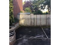 Parking space available for long term let - 5 mins walk to train station