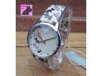 Radley RY2367 Ladies 'Fleet Street' Cream Leather Strap Watch – New - RRP £75