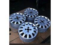"""Ford focus mk1 15"""" inch alloy wheels 195/60 R15"""