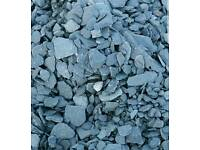 20kg Oyster pearl pebbles or Blue Slate