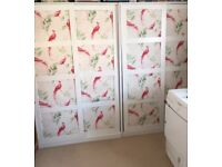 FREE! Two IKEA Double Wardrobes - Re-Listed due to Timewaster!