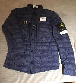 Stone island garment dyed yarn Micro jacket / overshirt men's small Genuine new RRP £375