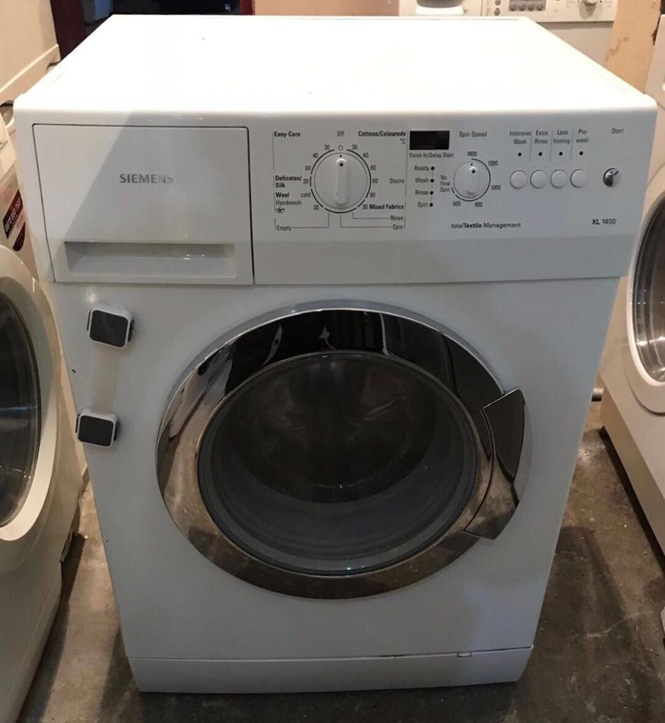 7kg Siemens XL1400 Digital Washing Machine (Fully Working & 4 Month Warranty)
