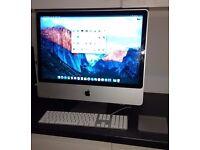 "Apple iMac 24"" (Late 2007) Intel Core2 2.8GHz Extreme Edition, 4GB memory, 1TB storage, El Capitan"
