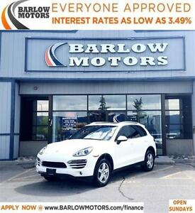 2011 Porsche Cayenne *EVERYONE APPROVED* APPLY NOW DRIVE NOW.