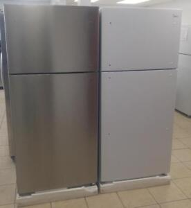 Brand New 18 cuft White and Stainless Fridges (BLOWOUT PRICES)