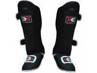Black 3X Shin Guards NEW!