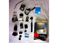 Sport camera alternative GO PRO SJ4000 with many accessories! Guarantee!!